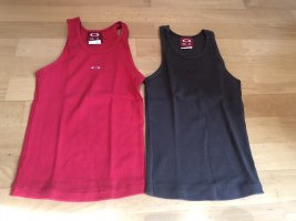 Oakley Sports Tank red-anthracite