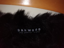 Oakwood Smanicato di pelliccia nero