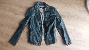 Oakwood Biker Jacket black brown leather