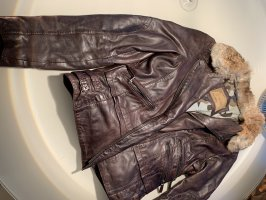 Oakwood Veste motard bronze