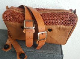 O bag Handbag cognac-coloured