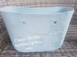 Obag O bag Classic Brush Body, hellblau/ grau, neu