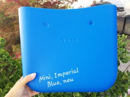 Obag O bag Mini Body, Imperial Blue, neu
