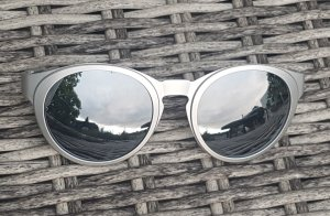 Obag O bag Sun, Sonnenbrille, Silber, grau, Fassung u Gläser