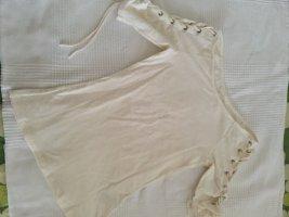 H&M Chemisier body crème-blanc cassé