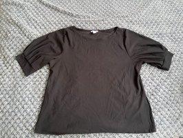 Amisu Camisa tipo Carmen negro