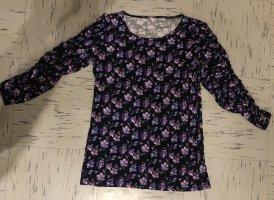 Pimkie Top long noir-violet