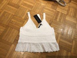 TRENDYOL Haut tricotés blanc