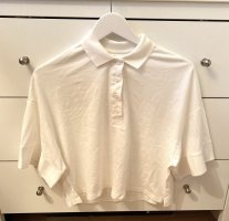 Monki Top Polo bianco