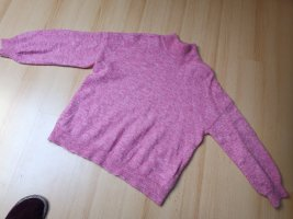 Object Pullover Rosa Pink meliert u.A. 32% M erinowolle und 32% M ohair
