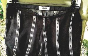Object Jersey Pants white-black