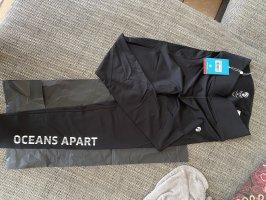 oceans apart pantalonera negro-blanco