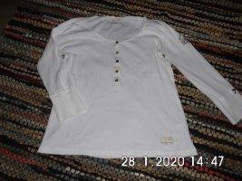 Odd Molly Camisa acanalada blanco Algodón
