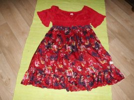 Odd Molly Kleid aus Baumwolle und Seide Gr. 2