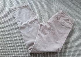Odeeh Pantalone di velluto a coste beige chiaro Cotone