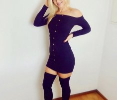 Off Shoulder Kleid SheIn