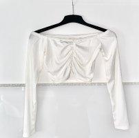 Boohoo Camicia monospalla bianco