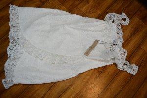 Off Shoulder Overlapped Lace Dress Pamela by Nakd 38