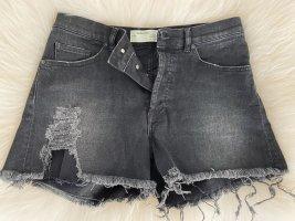 Off-White-Jeansshorts Damen