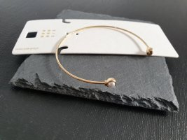 Armlet gold-colored-oatmeal