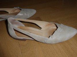 Paul Green Ballerines à lacets brun sable-beige clair