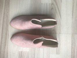 Offene, rosa Ankleboots, neu!