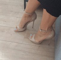 Office London high heels nude