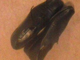K+S Shoes Zapatos Oxford con puntera negro Cuero