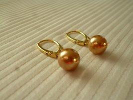 Pendientes colgante color oro