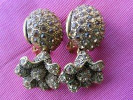 Clip d'oreille chameau-ocre bronze