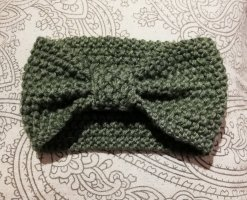 Cache-oreilles vert olive-kaki