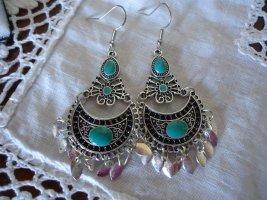 Ohrhänger blau Modeschmuck