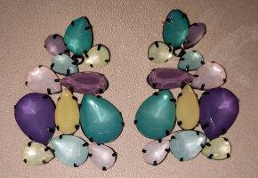 Cache-oreilles multicolore métal