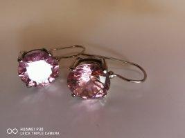 M&M Boucles d'oreilles en argent argenté-or rose