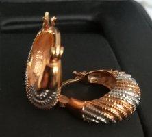 Ohrringe. 18k Gold/Vergoldet/Bijgoutterie. Neu.