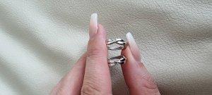 'S MaxMara Silver Earrings silver-colored