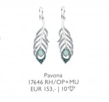 Pierre Lang Statement Earrings silver-colored-azure