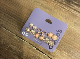 Claires Ear stud rose-gold-coloured