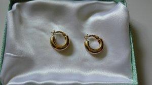 Pierre Lang Złote kolczyki złoto