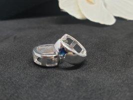 Ohrringe blauer stein Stern neu