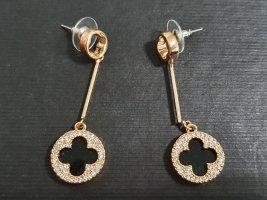 keine Marke Gold Earring black-gold-colored