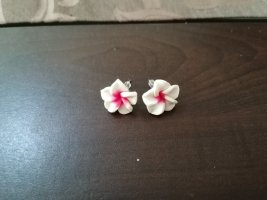 Zarcillo blanco-rosa