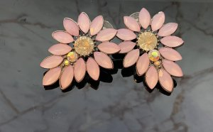 Kolczyk ze sztyftem różany