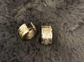Boucles d'oreille en or argenté-doré