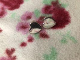 Ohrringe Herz Silber