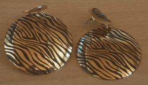 Ohrringe mit Zebramuster