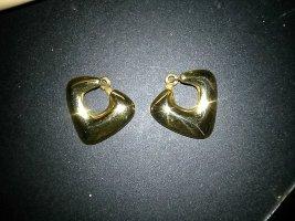 Ohrringe - Ohrstecker- Modeschmuck- goldfarbenes metall