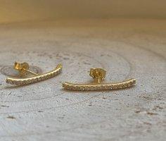Ohrringe Silber 925 vergoldet