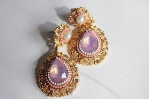 Zara Pendant d'oreille multicolore