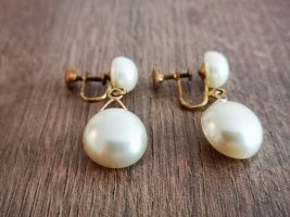 Ohrringe Vintage Perlen